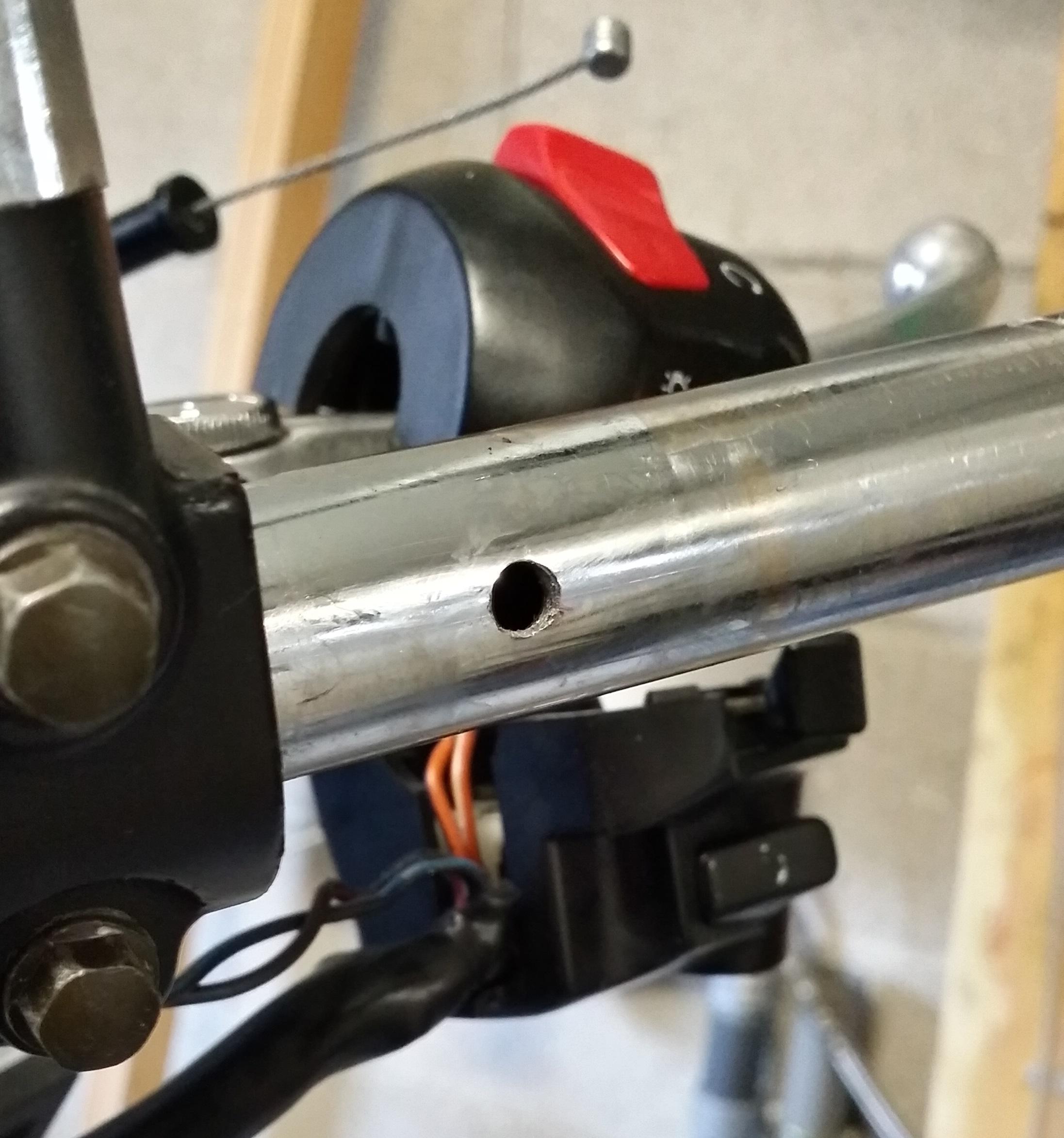Forums tutoriels per er son guidon motos bandit - Canon de percage ...